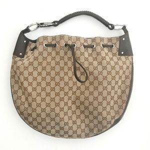 Gucci GG Drawstring Shoulder Bag